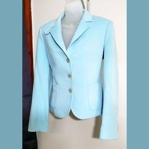 J.Crew Light Blue Wool Blazer